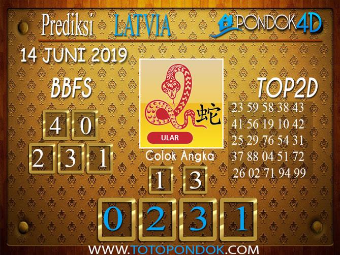 Prediksi Togel LATVIA PONDOK4D 14 JUNI 2019