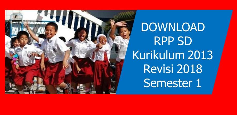 RPP Kelas 6 SD Revisi 2018 Tematik 1