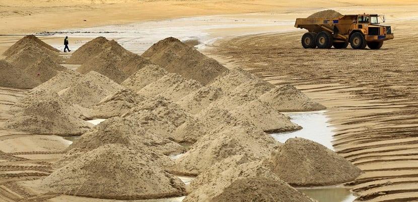 El planeta se está quedando sin arena