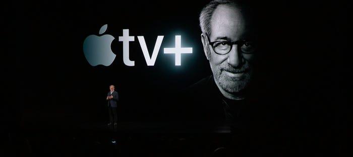 Un paquete de servicios que incluye Apple TV