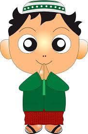gambar 6 kartun anak islami