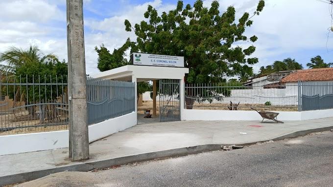 Prazo de vigência da reforma e ampliação da Escola Estadual Coronel Solon é aditivada por mais 60 dias