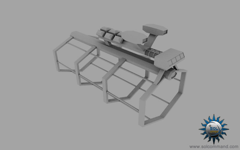 small repair facility station scifi 3d model free download solcommand shipyard build civilian