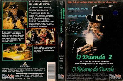 Filme O Duende 2 - O Retorno do Duende (Leprechaun 2) DVD Capa
