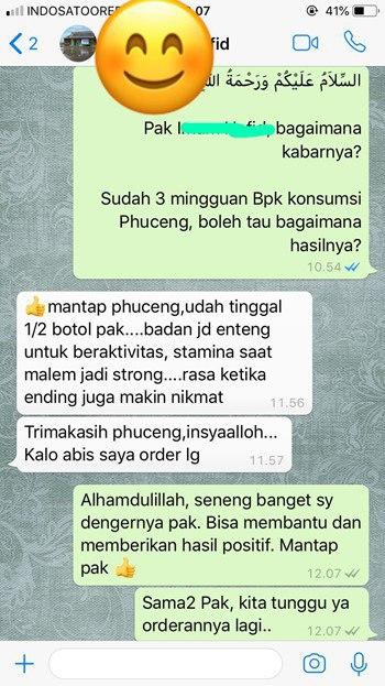 Testimoni Pengguna Madu Phuceng
