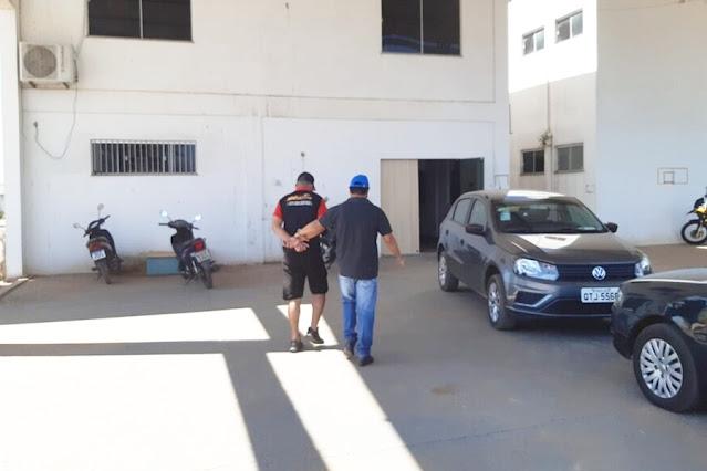 Acusado de estupro no Piauí é preso no local de trabalho em Porto Velho