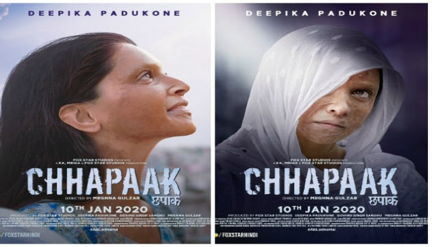 Chhapaak Movie 2020 Release date, Cast, Review, Trailer & Songs.