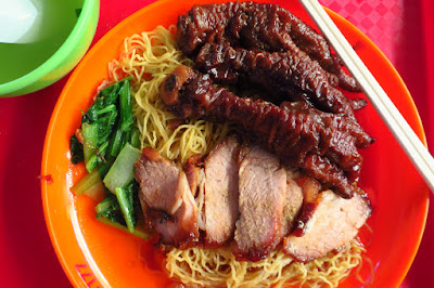 Fei Ye Ye Food Tradition (肥爷爷), chicken claw char siew noodles