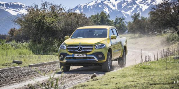 Mercedes X-Class: Outgrow the excavations