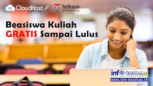 Beasiswa IDCloudHost: Kuliah Gratis S1 Sampai Lulus di Telkom University