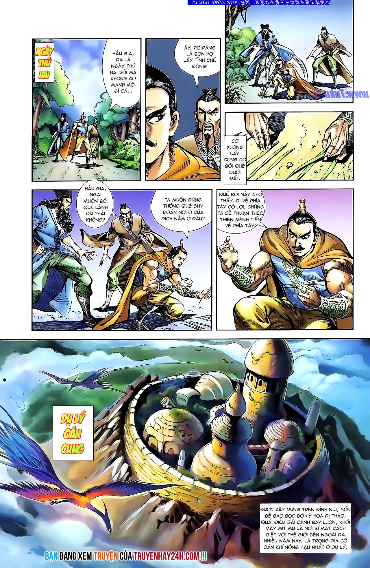 Cơ Phát Khai Chu Bản chapter 133 trang 28