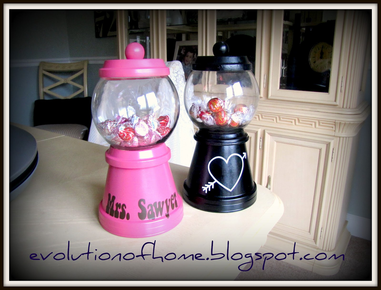 Greatest The Evolution of Home: Make A Gum Ball Candy Machine Out of Flower  FI61