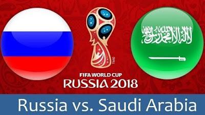 مشاهدة مباراة السعودية وروسيا بث مباشر  14-6-2018 في افتتاح بطولة كأس العالم 2018