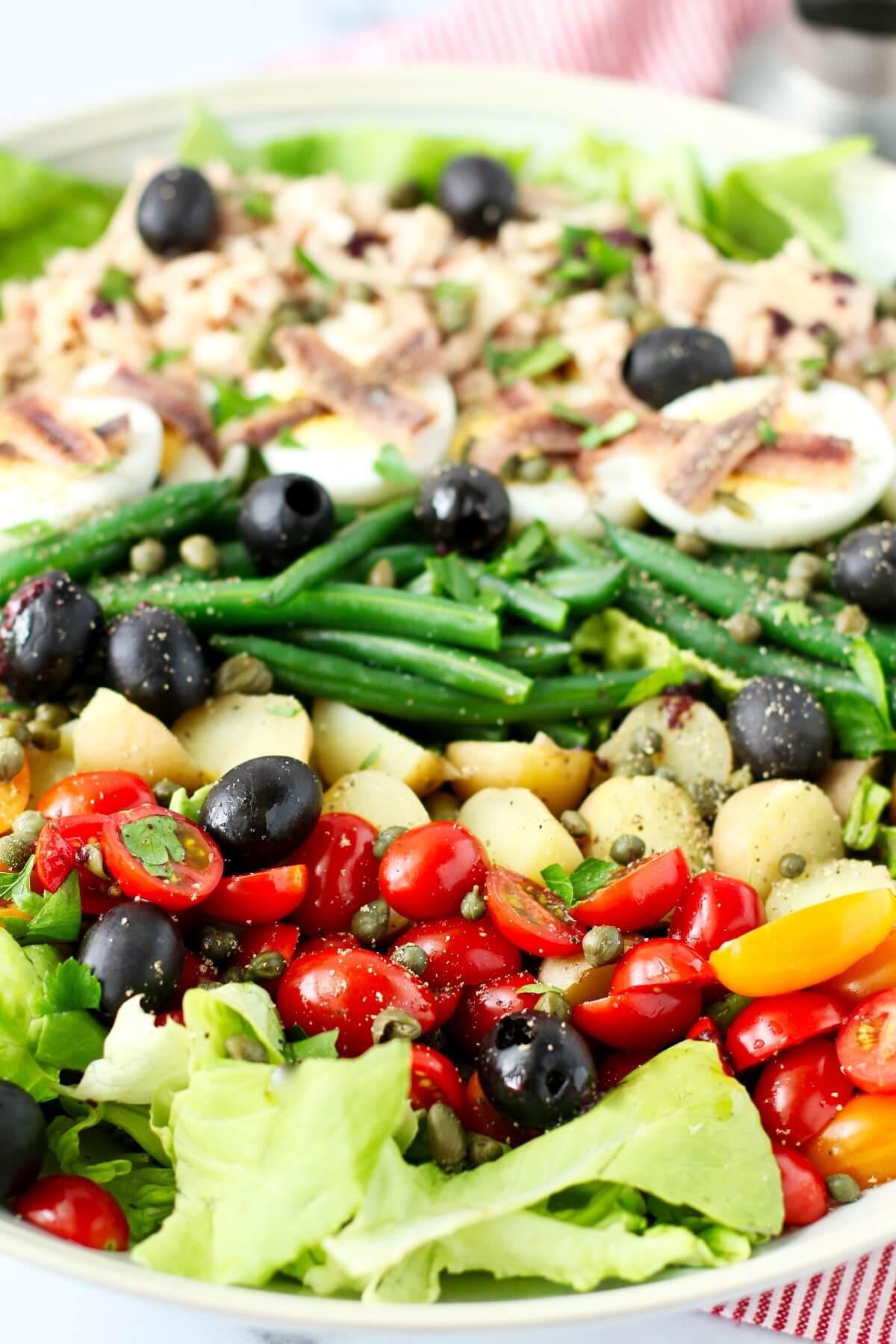 Salade Niçoise Composed