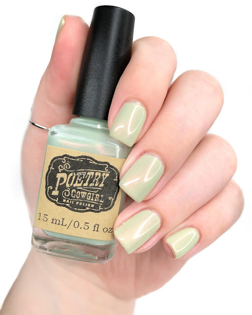 Poetry Cowgirl Nail Polish Peppermint Stick 25 Sweetpeas