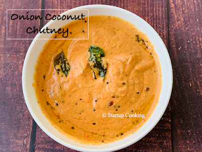 onion coconut chutney