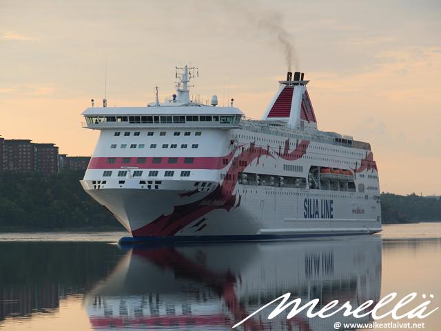 Ruotsiin laivalla kesällä 2020