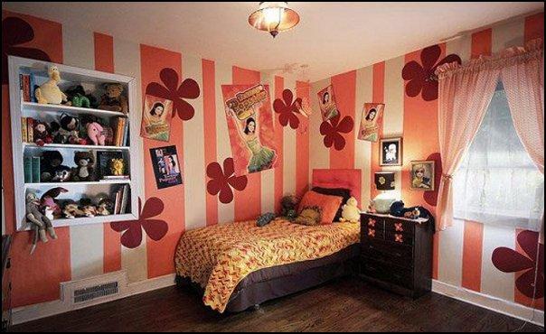 Groovy Funky Retro Bedroom 70s bedroom Hippie Hippy style lower power era deorating 70s