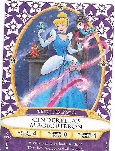 Cinderella's Magic Ribbon Spell Card 25/70