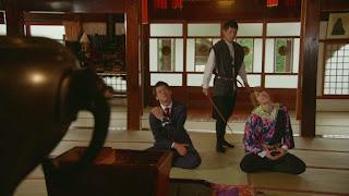 Ryu Tenkuji meets Takeru and Shinnosuke