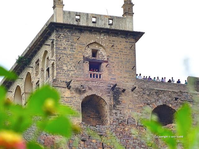 The Baradari, Golkonda Fort, Hyderabad