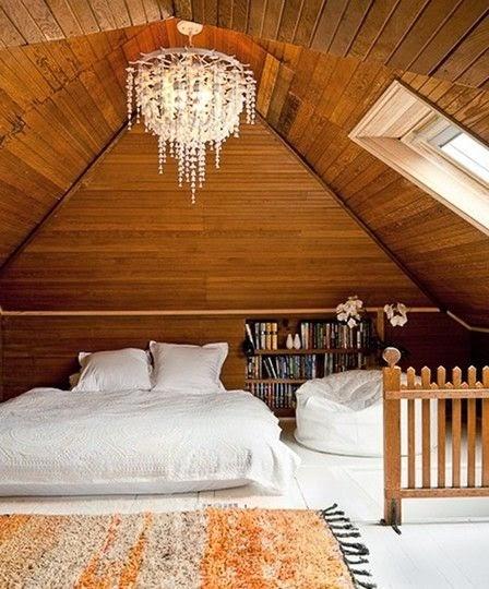 Moon To Moon: 6 Dreamy Attic Bedrooms
