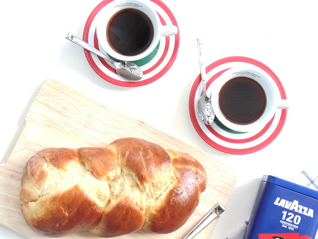 Finnish Pulla Bread Recipe ft. Lavazza
