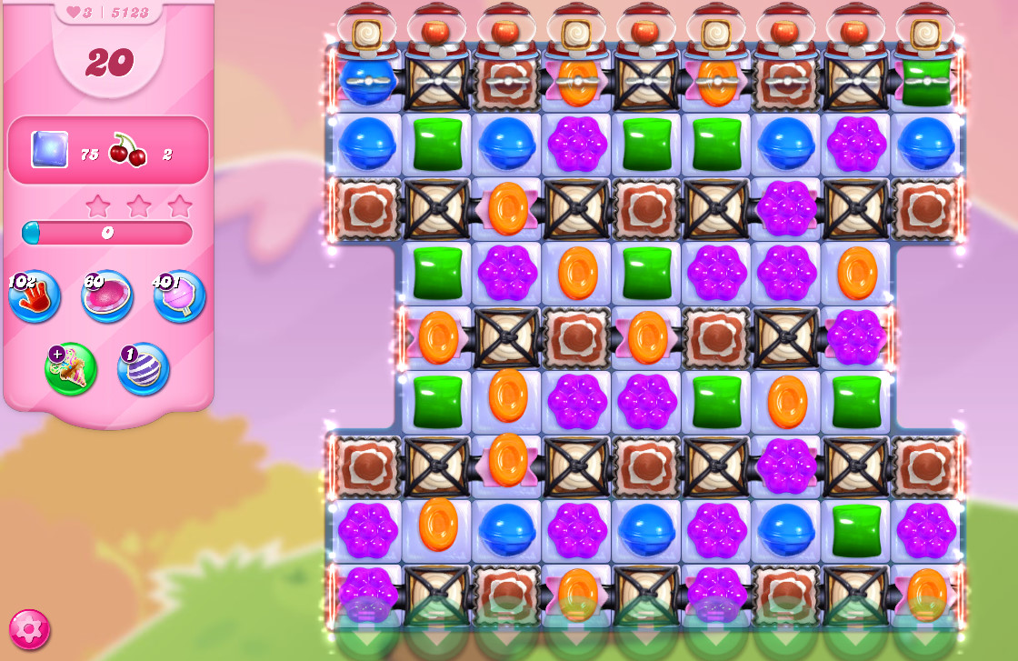Candy Crush Saga level 5123
