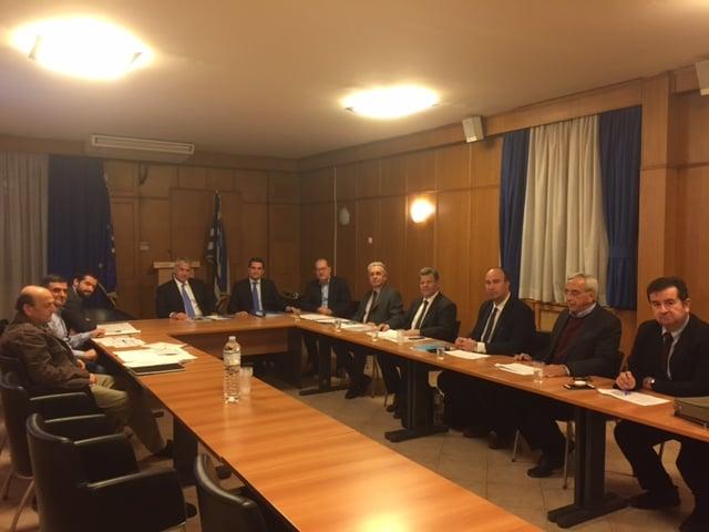 Πραγματοποιήθηκε η συνάντηση του περιφερειάρχη Π. Νίκα με τον υπουργό Αγροτικής Ανάπτυξης Μ. Βορίδη