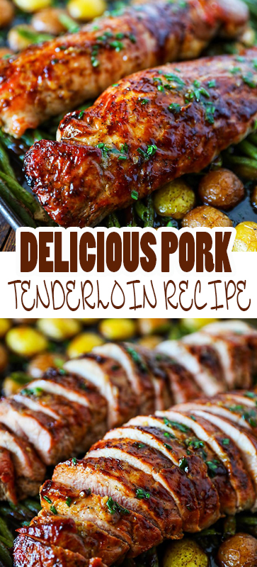 DELICIOUS #PORK #TENDERLOIN #RECIPE