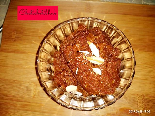 besan ka halwa without sugar easy recipe......