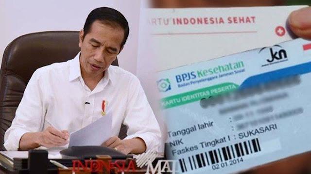 Jokowi Bilang Vaksin Gratis untuk Semua, Tapi Jangan Senang Dulu, Karena Syaratnya Adalah Menjadi Peserta BPJS Aktif