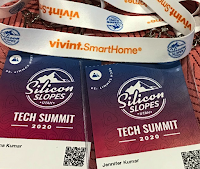 Entry Badge for Silicon Slopes Tech Summit 2020