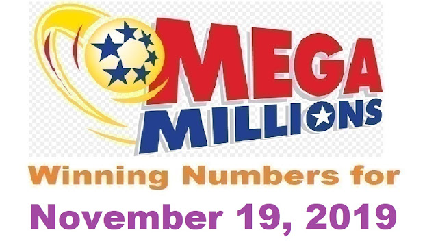 Mega Millions Winning Numbers for Tuesday, November 19, 2019
