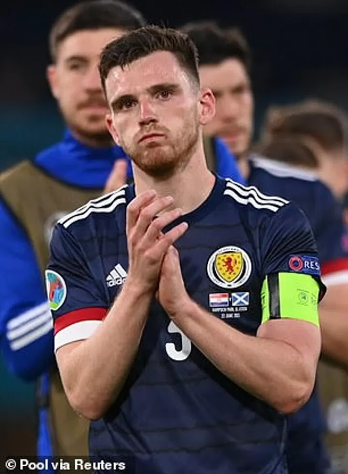 Andy Robertson says Scotland must build on their Euro 2020 experience