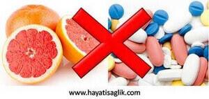 Greyfurt ilaçların etkileşimi