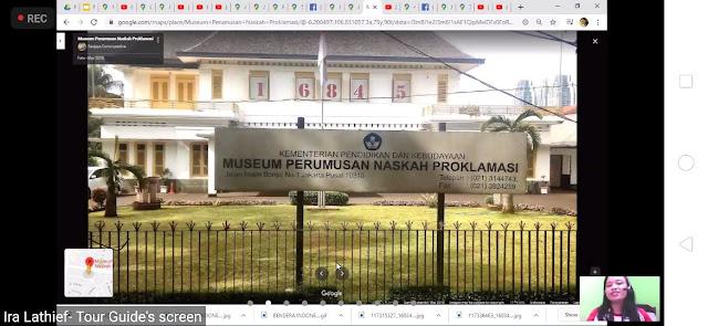 museum perumusan naskah proklamasi via tur virtual