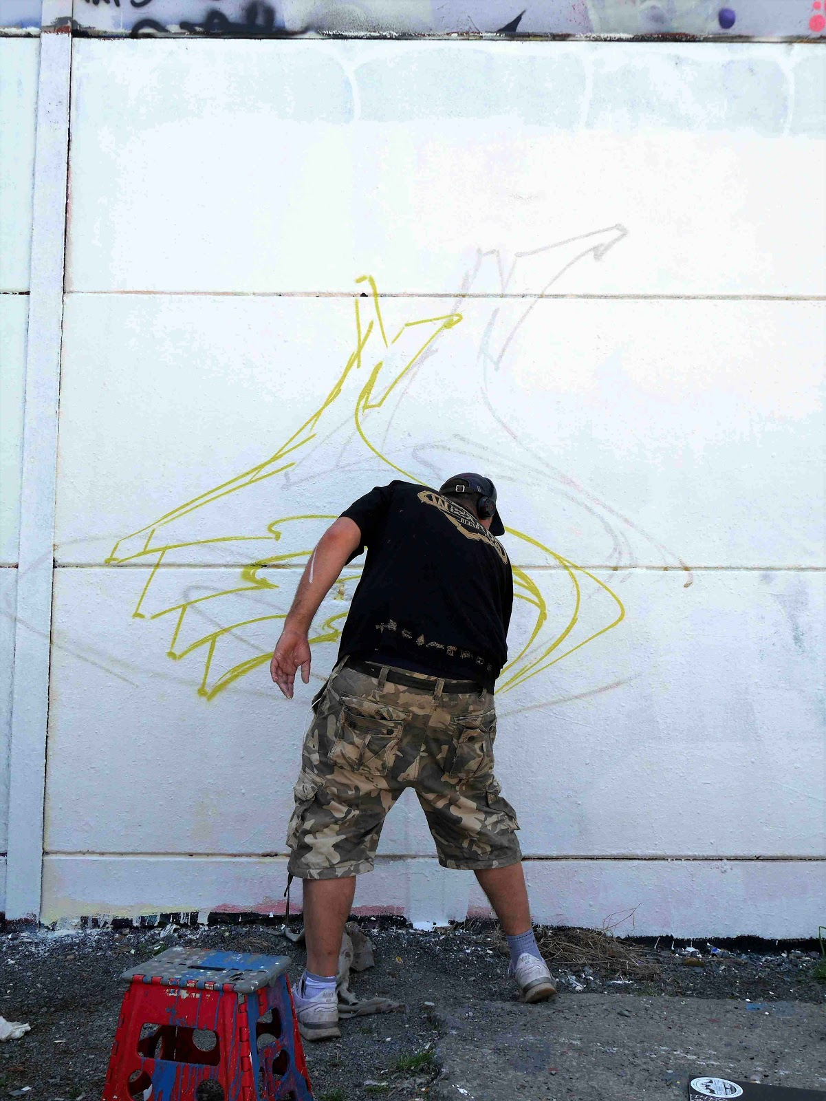 Somey graffiti artist