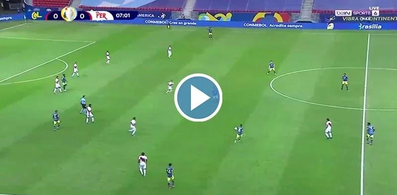 Colombia vs Peru Live Score