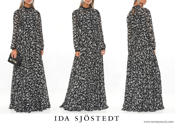 Princess Sofia wore Ida Sjöstedt Meadow dress