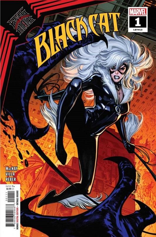 Cover of Black Cat #1