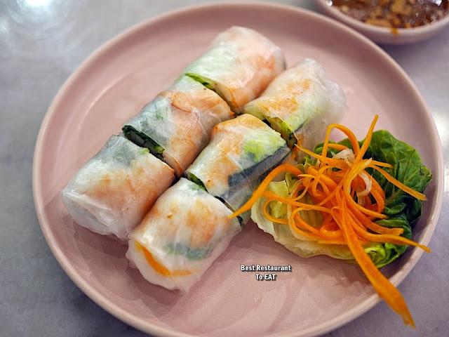 Nguyens Retail Park Vietnamese Restaurant Menu - Nguyens Viet Rolls