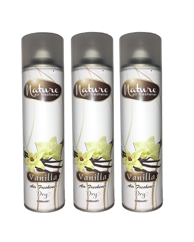 Pack Of 3 - Nature Vanilla Air Freshener 300 ml