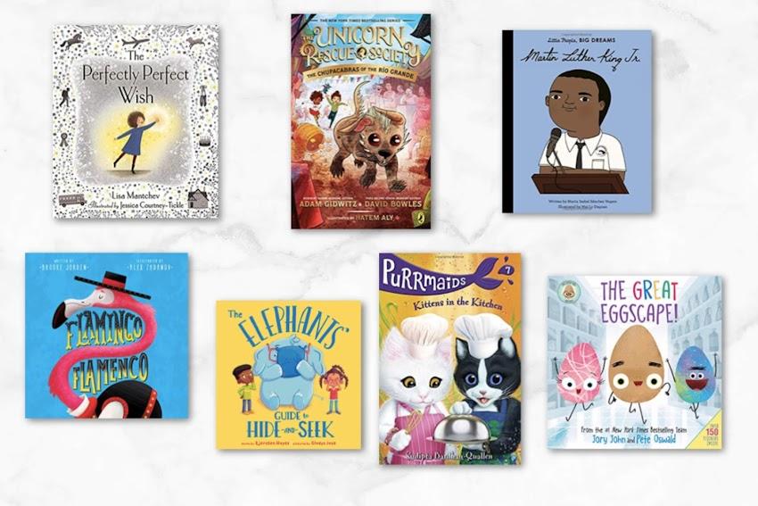 New Year - New Kids Books.