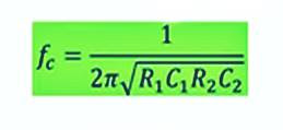 مرشح تمرير التردد المنخفض الفعال أو دائرة فلتر Sallen-Key-LPF