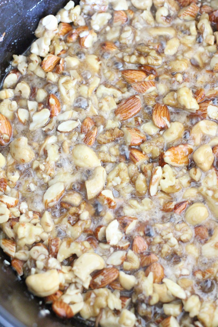 Maple Nut Clusters Recipe