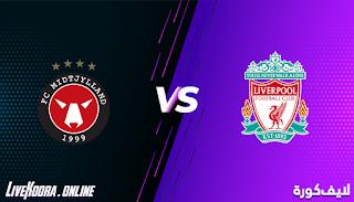 مشاهدة مباراة متيولاند وليفربول بث مباشر بتاريخ 09-12-2020 دوري أبطال أوروبا