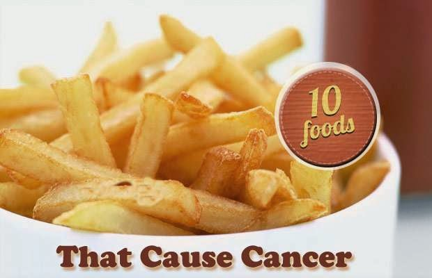 10 Most Unhealthy Cancer Causing Foods To Avoid