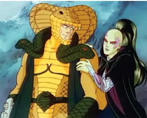 G I Joe Cartoon Characters : Old school evil villain retrospect cobra la