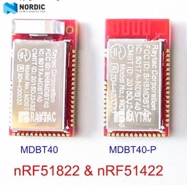 BLE & BT5 & BT4 2& BT4 1& BT4 0 Module: Raytac BLE Module Line